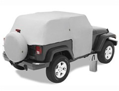 All Weather Trail Cover Jeep Wrangler JK 2D 2007-2016 Gray by Bestop