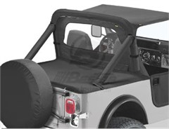 Bestop Duster� Deck Cover, Wrangler YJ, 87-91  W/FACTORY SOFT TOP BOW FOLDED DOWN
