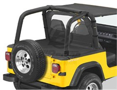 Bestop Duster� Deck Cover, Wrangler, 92-95 W\SUPERTOP SOFT TOP BOW FOLDED DOWN