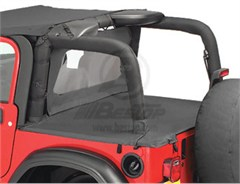 Bestop Duster� Deck Cover, Wrangler, 03-06  W\FACTORY SOFT TOP BOW FOLDED DOWN