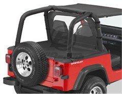 Bestop Duster� Deck Cover, Wrangler, 92-95 W\FACTORY SOFT TOP BOW FOLDED DOWN