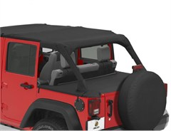 Bestop Duster Deck Cover Jeep Wrangler 4 Door 2007-2016