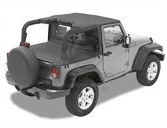 Bestop Duster� Deck Cover, Wrangler, 07-14 REQUIRES FACTORY TAILGATE BAR