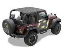 Bestop Header Safari Bikini for 2 door JK, 2010-2015