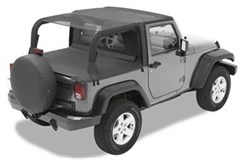 Bestop Cable Safari top, Mesh-Wrangler JK 2 door, 2010-2015