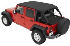Bestop Cable Safari top-Wrangler JK 4 door, 2010-2014
