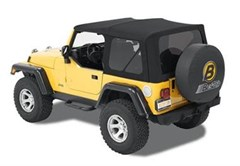Bestop Black Twill Replace-a-top - Wrangler TJ 1997-2006