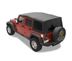Sailcloth Replace-a-top Skin w/Tint Windows 4 Door JK 2011-2015