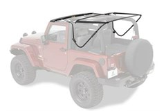 Bestop Soft Top Hardware for JK Wrangler 2 Door