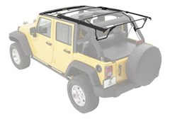 Bestop Soft Top Hardware for JK Wrangler 4 Door