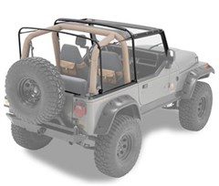 Bestop Soft Top Replacement Hardware, 87-95 YJ Wrangler