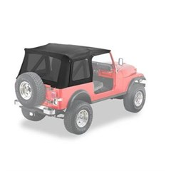Bestop Supertop Skin, no doors-CJ-7 & YJ -Black Denim