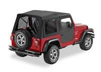 Supertop, Jeep TJ -Tinted Windows w/2 pce doors- Black Diamond