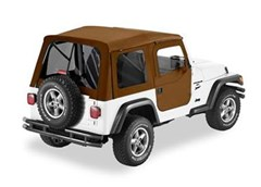 Bestop Supertop, Jeep TJ -Tinted Windows w/2 pce doors- Spice