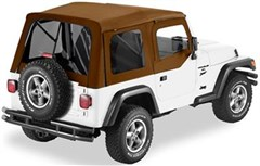 Supertop, Jeep TJ -Tint Windows w/half door- Spice