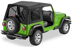 Bestop Supertop Soft Top, Jeep TJ -Tinted Windows, Black Denim