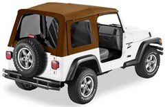 Bestop Supertop Soft Top, Jeep TJ -Tinted Windows, Spice