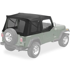 Bestop Supertop Soft Top - Jeep YJ w/ half doors