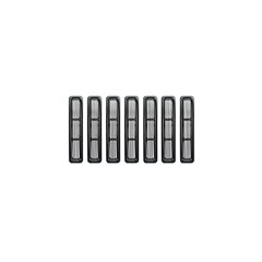 Black Billet Grille Inserts for Jeep Wrangler TJ, LJ (1997-2006)