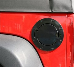 Gas Cap, Non-Locking, Jeep JK (2007-2014), Black