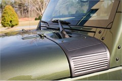 Black Cowl Body Armor for Jeep Wrangler JK (2007-2014)