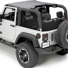 Summer Brief Top for 2 Door Jeep Wrangler JK (2007-2009)