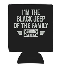 I'm the Black Jeep of the Family Neoprene Koozie