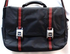 Jeep Messenger Bag with Seatbelt-style Buckles