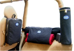 BackTrail Outfitters Set of 6 Jeep Storage Bags for TJ/YJ Wrangler 92-06