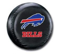 Buffalo Bills NFL Tire Cover - Black Vinyl