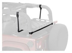 Lower Cargo Rack Bracket for Jeep Wrangler TJ & JK 2003-2017 by Bestop
