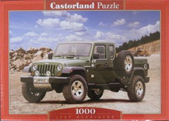Jeep Gladiator in Canyon Scene 1000 piece Puzzle