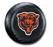 Chicago Bears NFL Tire Cover - Black Vinyl