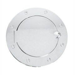 Gas Cap Door, Non-Locking, Jeep JK (2007-2014), Chrome