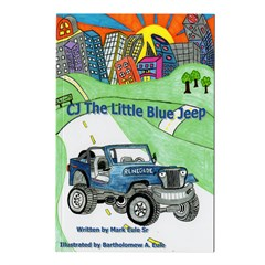 """CJ the Little Blue Jeep"" Children's Jeep Book"