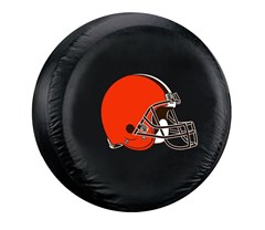 Cleveland Browns NFL Tire Cover - Black Vinyl