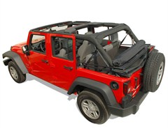 Window Roll by Cloverpatch for 4 door Jeep Wrangler JK (2007-2014)