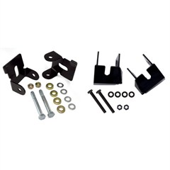 Control Arm Skid Plate Kit, Front And Rear, Rugged Ridge, Jeep Wrangler JK (2007-2014), 4 Pieces, Black