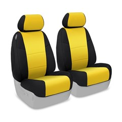 Neoprene Front Seat Covers for Jeep Wrangler Unlimited 4 Door 2007-2010 JK, CoverKing