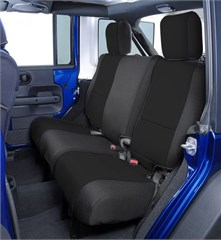 Neoprene Rear Seat Covers for Jeep Wrangler 2 Door 2007-2010 JK, CoverKing