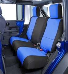 Neoprene Rear Seat Covers by Coverking for Jeep Wrangler 4 Door 2007 JK