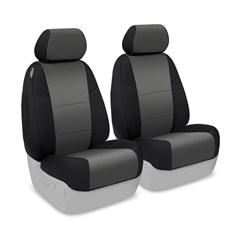 CoverKing Neoprene Front Seat Covers for Jeep Wrangler 2 Door (2011-2013) JK, W/O Height-Adjustable Driver Seat