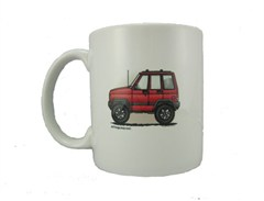 "Cherokee ""Where's Your Playground"" Coffee Mug by All Things Jeep"