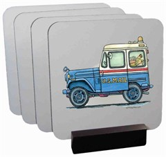 Jeep Coaster Set by All Things Jeep