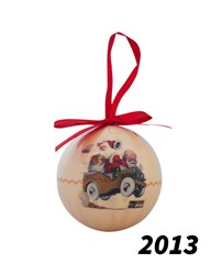 2012 Jeep Holiday Ornament - by All Things Jeep