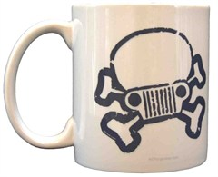 Jeep Skull & Crossbones Coffee Mug