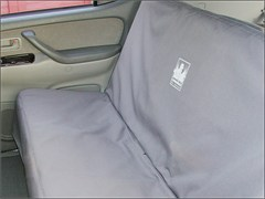 Jeep / SUV Backseat Cover by Canvasback (Medium)