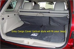 Jeep Cherokee 1997-2001 Cargo Liner (Canvasback)