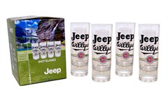 Jeep�  Shot Glasses (set of 4) - Officially Licensed Jeep Merchandise