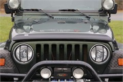 Bug Deflector, Rugged Ridge, Jeep Wrangler (YJ) 1987-1995, (TJ) 1997-2006, Smoked